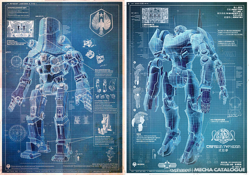BLOG: PACIFIC RIM Viral Marketing Starts | MECHA CATALOGUE .