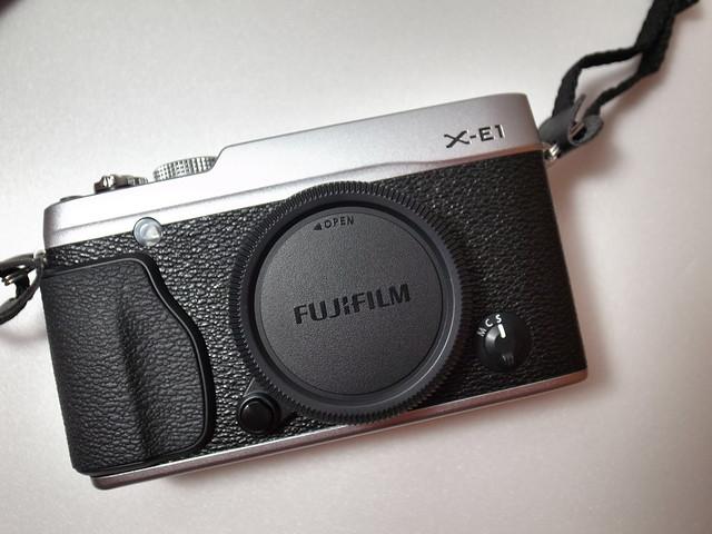 Fujifilm X-E1 + 18-55