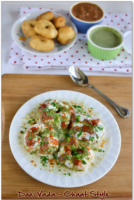 Dahi Vada Chaat Recipe