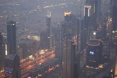 Burj Khalifa - View over Dubai