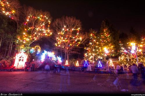 christmas people colors ma lights shrine massachusetts mass attleboro lasalette dmcg10