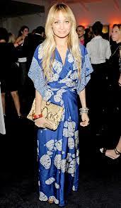 Nicole Richie Orient Trend Celebrity Style Women's Fashion