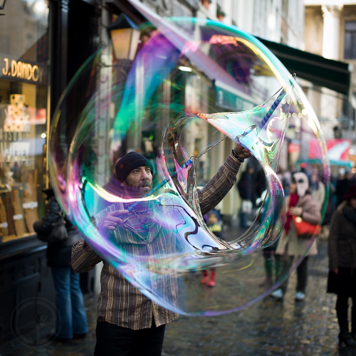 Brussels People #138 - Spanish Bubble