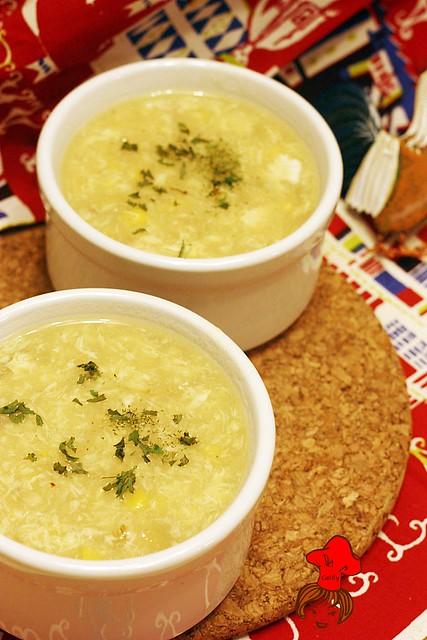 好事多烤雞玉米濃湯  Costco corn soup 1