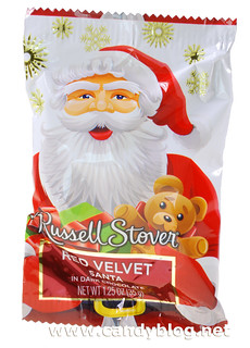 Russell Stover Red Velvet Santa