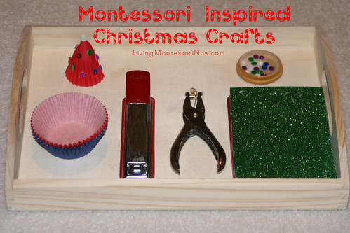 Montessori-Inspired Christmas Crafts