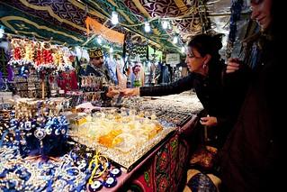 Mercado navideño.