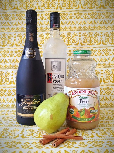 Sparkling Pear Party Punch
