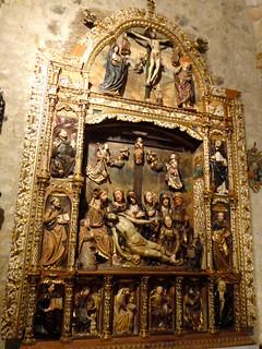 """Llanto sobre Cristo muerto"", del Maestro de San Pablo de la Moraleja."
