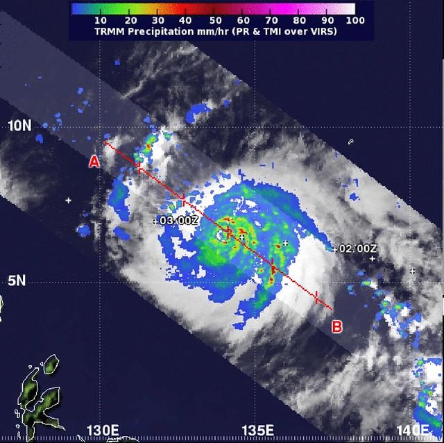 NASA Satellites See Typhoon Bopha Now Heading Toward the P ...