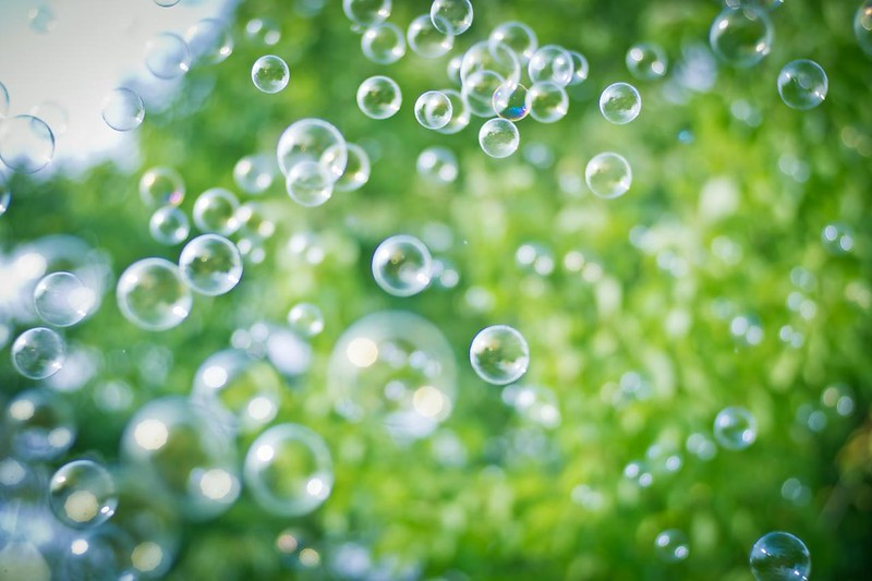 Soap bubble #7