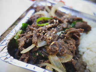 Beef Bulgogi at manna kitchen, NYC