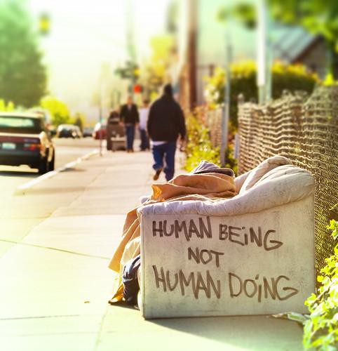 Human Being, Not Human Doing