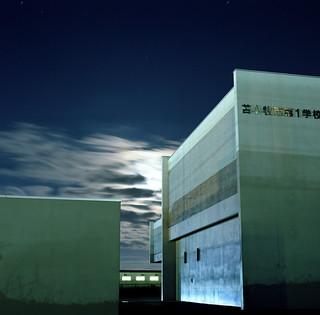 Moonlit Buildings