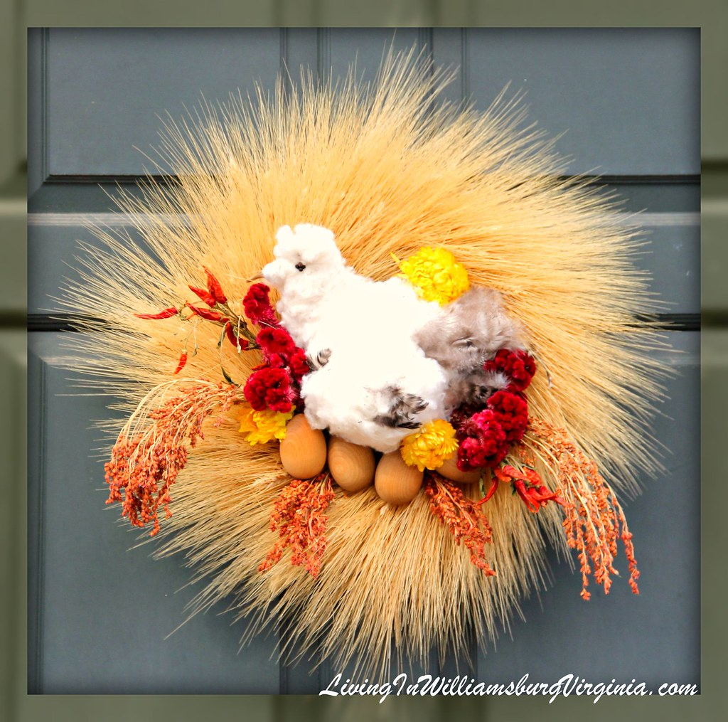 Wreath with Bird and Eggs