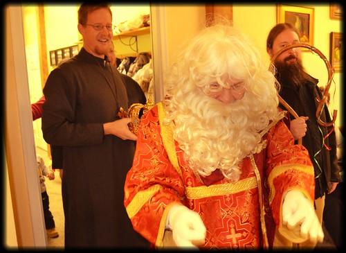St Nicholas Visits