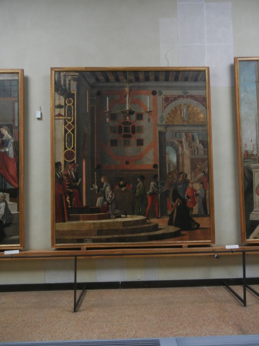 DSCN2690 _ Departure of the Ambassadors,  Legend of S. Ursula, Vittore Carpaccio, 1497-98,  Accademia