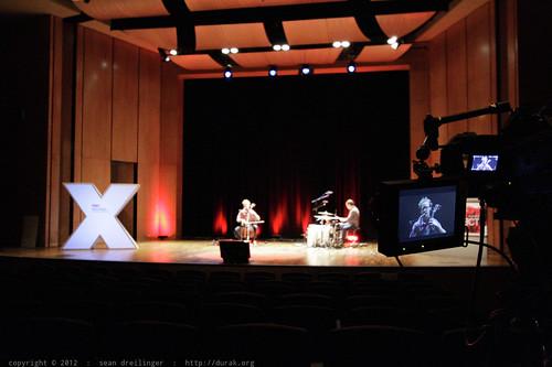 Rehearsal, Walkthrough, & Soundcheck   TEDxSanDiego 2012