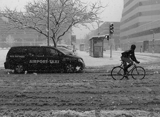 Taxi vs Bike vs Snow