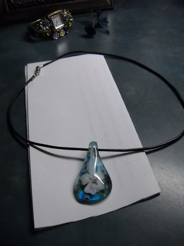 Homemade necklace by Janis Gore