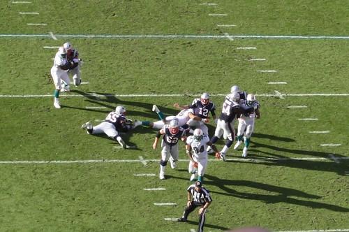 Patriots v. Dolphins 2012
