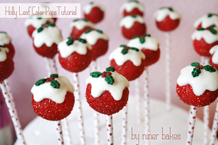 Candy Cane Cake Pops - how to make Candy Cane Cake Pops