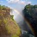 Victoria Falls Rainbow Vertorama by Panorama Paul