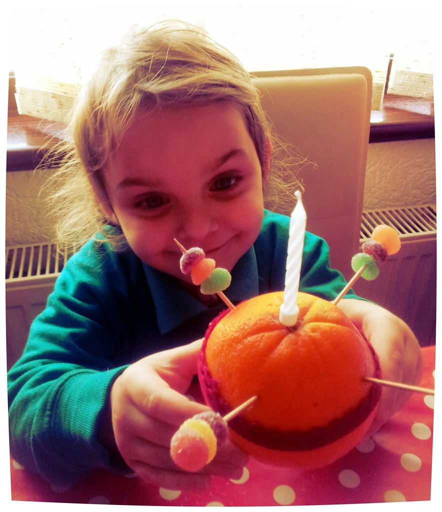 , Our Christmas Christingle Craft