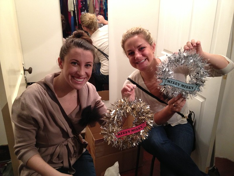 Mini Tinsel Wreath
