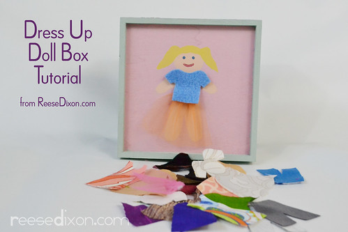 Dress Up Doll Box