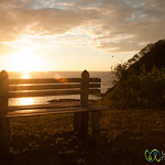 Bench on Sunset Hike at Morgan's Rock - Pacific Coast, Nicaragua