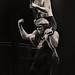 AC/DC -  Brian Johnson & Angus Young - Manchester Apollo 1982 by Harry Potts