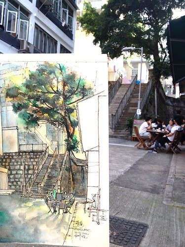 Wall Tree at Pound Lane 磅巷石牆樹
