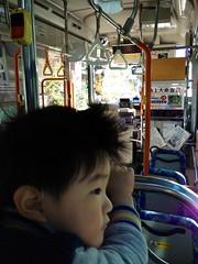 ハチ公バスにて 2012/12/16