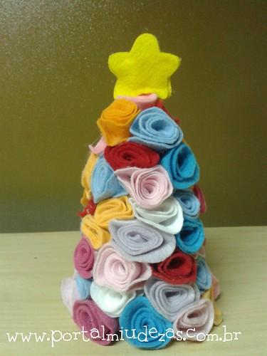 Árvore de Natal do Ateliê by miudezas_miudezas