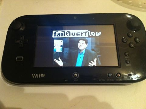 Wii U by fail0verflow