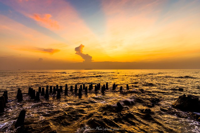 Unique Sunrise In Kelor Island