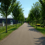 Walkway at Miller Park, Preston
