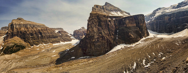 Plain of Six Glaciers Panorama
