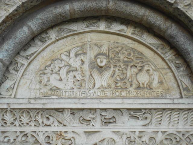 portale Pieve di San Siro, Capo di Ponte