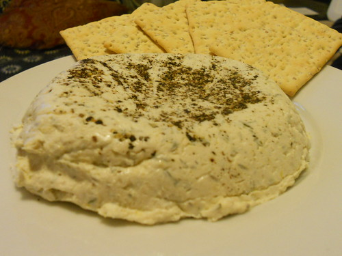 Vegan Lemon Herb Chevre