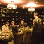WFUV at Del Posto: Band Dinner in the Green (Wine) Room
