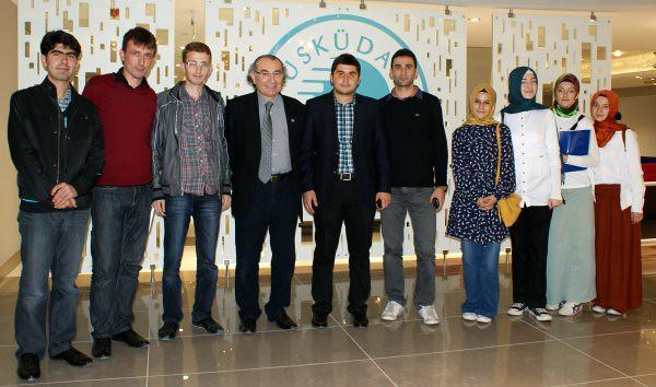 Marmara Öğrencileri Rektör Tarhan'ı Ziyaret Etti 2
