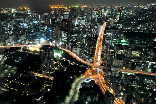 [フリー画像素材] 建築物・町並み, 都市・街, 夜景, 日本, 日本 - 東京 ID:201211301200