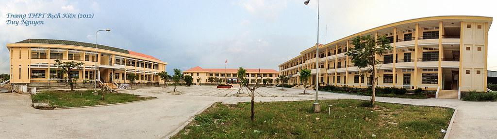 Trường THPT Rạch Kiến nhìn từ bên trong