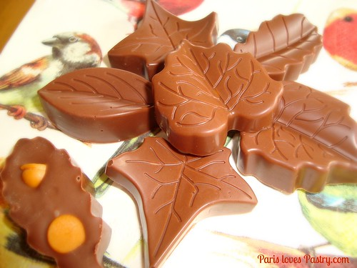 Butterscotch Filled Chocolates
