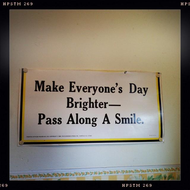 pass along