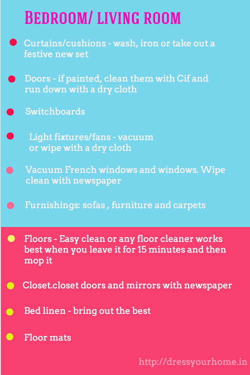housekeeping room checklist