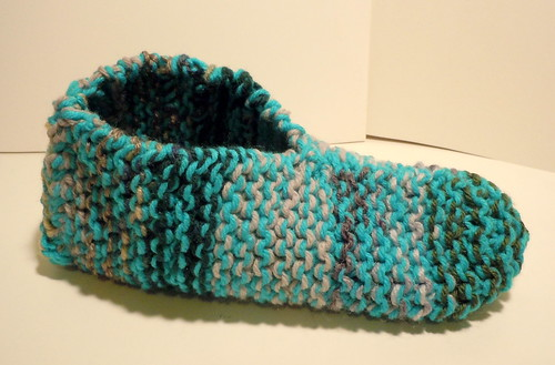 Finished Slipper