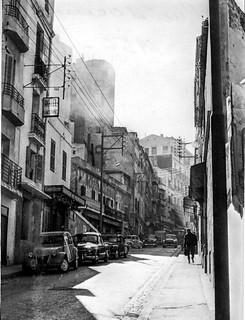 Rue à Oran - 1955 - Photo JP Vasse (Retina Kodak)